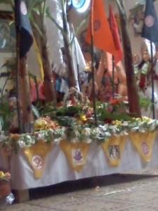 Beautifully decorated bedi- Coromandel Shiv Mandir, Coromandel Village Cedros