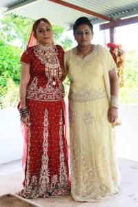 My mom, Mrs. Doris Thomas and I!