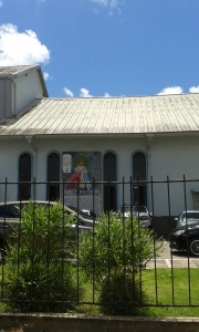 Another view of Point Fortin Roman Catholic Church