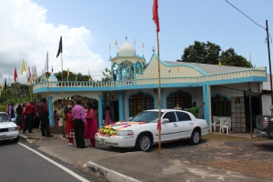 Hindu Temple- Coromandel Shiv Mandir located in Coromandel Village Cedros