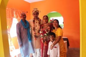 Datta family-Mukesh, Nadine, & Datta!