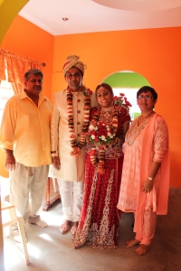 Datta family- Akash and Amanda