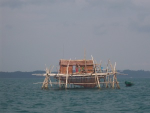 A view of fishing in Indonesia