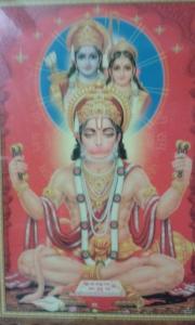 Sri Hanumanji- Om Namo Hanumate Namaha!