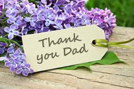 Thank you for everything Daddy!