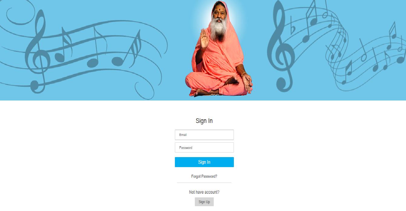 YogaSangeeta login